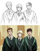 Slytherin bad guys by clefchan