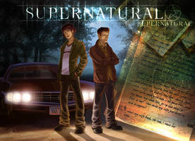 Supernatural by clefchan