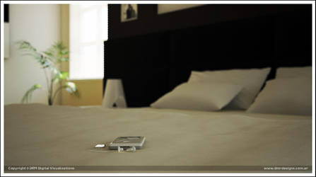 Dreamed Bedroom by diegoreales