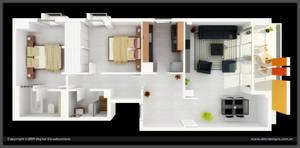 3d Floorplan by diegoreales
