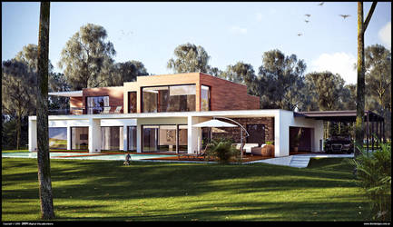 Modern House WIP 2 by diegoreales