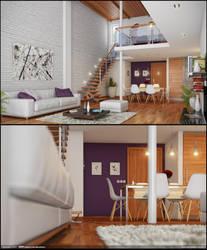 Modern Interior by diegoreales