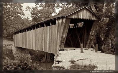 Switzer Covered Bridge by yojin