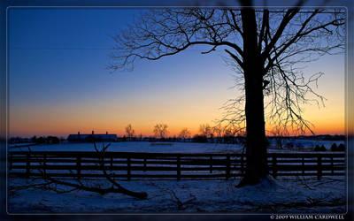 Winter Sunset II by yojin