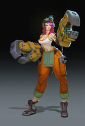 VI mechanic by Niconoff