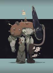 Mushroom Gunner by Niconoff