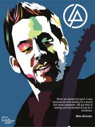 Mike Shinoda in WPAP by setobuje