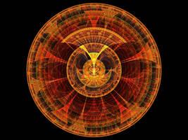 Coin Of The Aztec Sun by LyinRyan