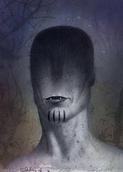 Hairy Vampire2 by ChrisChuckry