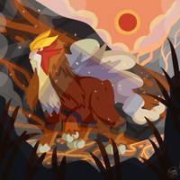 Volcano Newborn by SnackyBoy