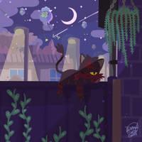 night time insomnia by SnackyBoy
