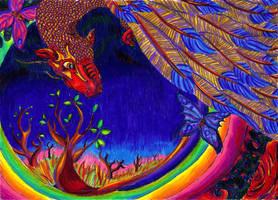 In Between Worlds by Lucy-Merriman