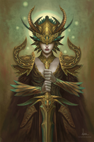 Deesia- The Ancient of life by ninovecia