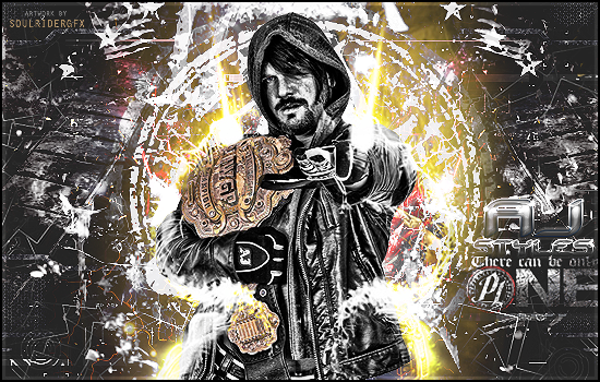 AJ Styles Signature by SoulRiderGFX