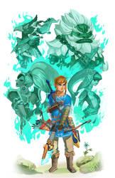 Zelda BoTW - Champions' Gifts by GabeRamos