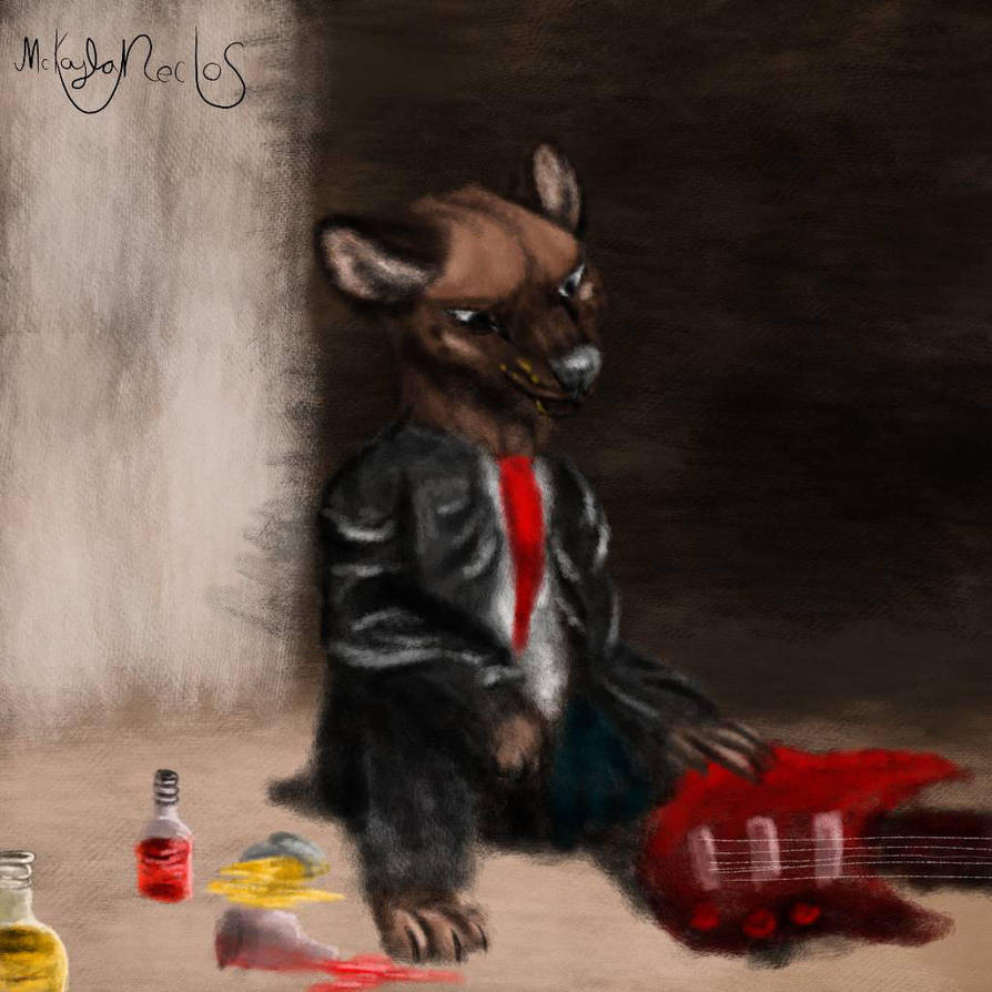 One of the Drunks by Tinyanimals