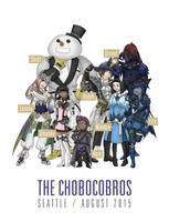 The Chobocobros by Vikanda