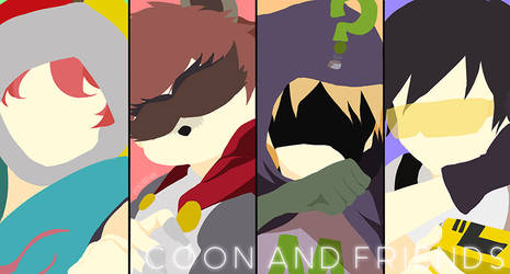 Coon And Friends || Vector || 051916 by Ayachiichan