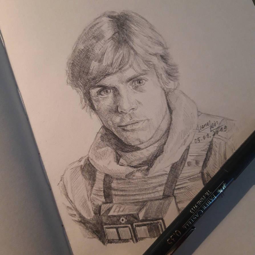 X-Wing pilot Luke Skywalker  by ioanakin