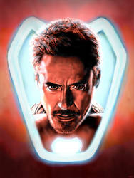 Tony Stark by Marivyn