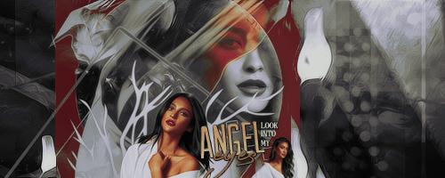 angel eyes. by pinklucozade