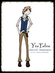YouTuben - Pewdiepie (character sheet) by lumpadoodle