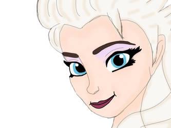 FROZEN - Elsa by lumpadoodle