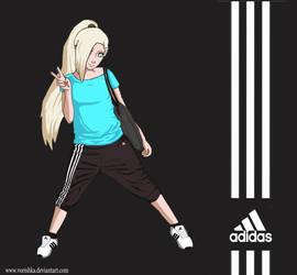 Ino in adidas by vorishka