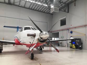 Pilatus PC-12  by HeavyMetal747