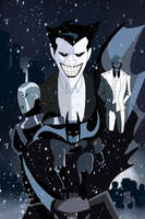Batman: Arkham Origins Poster Animated Recreation by Tyraknifesaurus