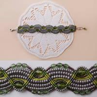 Macrame Bracelet 11 Spring Time by borysbrytva