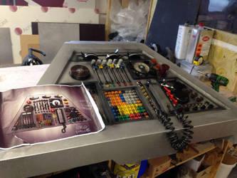 New TARDIS control panel #4 by rubbert0e