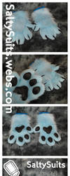 Kolfy Hand Paws Commission by SaltySuits