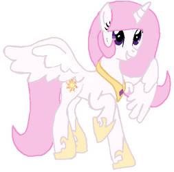 Alicorn Twilight  Becomeing Young Princess Celesti by qjosh