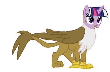alicorn twilight becomeing Gilda tf 07 by qjosh