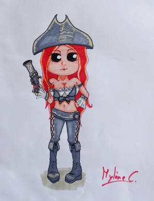 Chibi Miss Fortune by Mylene-C
