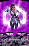 Sombra from Overwatch by Mylene-C