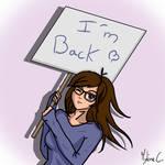 I'm back !! by Mylene-C