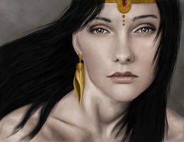 Egyptian beauty by halz2013