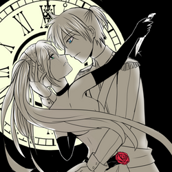 Cendrillon Len and Miku by HaiperKun
