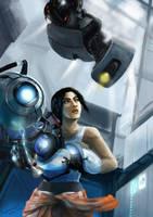 Portal 2 by tinysaucepan