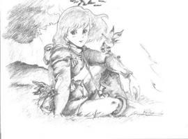 Nausicaa by Kkarrot