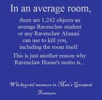 Ravenclaw House Motto by AtomicWhoopeeCushion