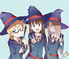 Little Witch Academia by sishenfan