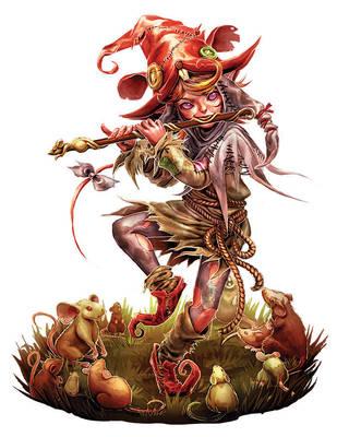 The Faerie Ring - Far Darrig Rat Queen by yuikami-da