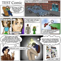 A Test Webcomic by aprilchild