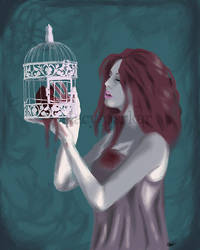 Caged Heart by Stacy-Parker