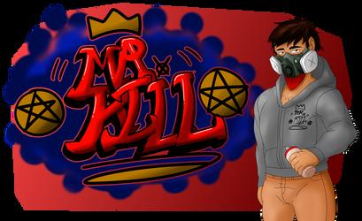 Mr. Kill (Graffitisona) by mushrooms14
