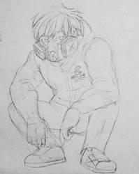 Random Comic Sketch  by mushrooms14