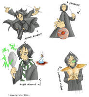 The Snape Theory. by scotalicious